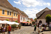Old houses of Szentendre — Stok fotoğraf
