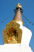 Peak of a stupa — Stock Photo