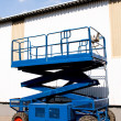 Stock Photo: Aerial work platform