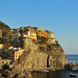 Manarola - Cinqueterre - at sunset — Photo