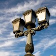 Classic street lamp in Budapest — Stock Photo