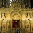 Stock Photo: Altar of synagogue in Szeged