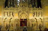 Altar of synagogue in Szeged — 图库照片