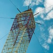Closeup of a radio antenna — Stockfoto
