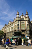 Budapest - Ferenciek square — Stock Photo