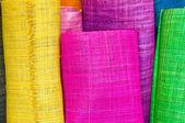 Textile rolls — Stock Photo
