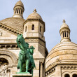 Detail of the cathedral Sacré Coeur — Stock Photo #10426318