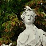 Le jardin des Tuileries in Paris — Stock Photo