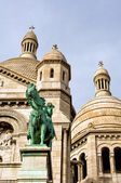 Detail of the cathedral Sacré Coeur — Stock Photo