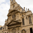 The Saint Etienne church in Paris — Stock Photo