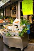 Fish shop in Paris — Stock Photo