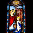 Stockfoto: Stained glass window