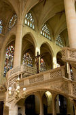 Interior of Saint Etienne church in Paris — Stock Photo