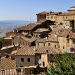 Houses of Volterra - Stock Photo