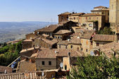 Houses of Volterra — Stock Photo