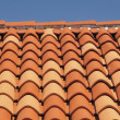 Tiles of a roof — Stok fotoğraf