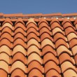 Stock Photo: Tiles of roof