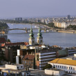 Stock Photo: View of river Danube