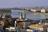 View of the river Danube — Foto Stock