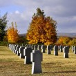Military cemetery in Budaors — Stock Photo #9660269