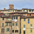 Stock Photo: Houses of Siena