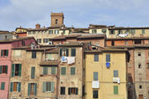 Houses of Siena — Stock Photo