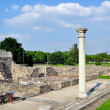 Stock Photo: Romruins in Aquincum