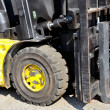 Stock Photo: Used forklift truck