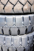 Industrial tires — Stock Photo