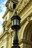 Detail of St Stephen basilica — Stock Photo