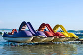 Pedalos — Stock Photo
