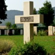 Cross in a war cemetery — Foto de Stock