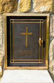 Cemetery register — Stock Photo