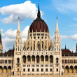 The Hungarian Parliament in Budapest — Stock Photo #9994701