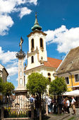 Szentendre main square — Stock Photo