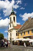 The Main Square in Szentendre — Stock Photo