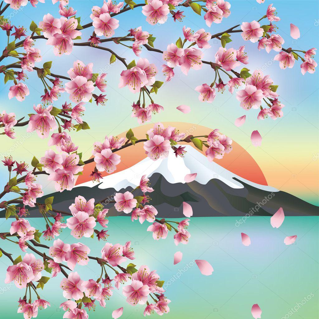 Открытки японские