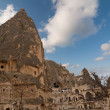 Royalty-Free Stock Photo: Unique ancient tuff stone cave village in Goreme Cappadocia Turkey