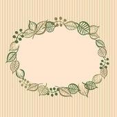 复古花卉小插图 — 图库矢量图片