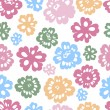 Sping flowers seamless pattern — Stock Vector #8954843