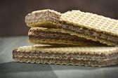 Wafer al cioccolato — Foto Stock