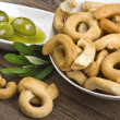 Taralli biscuit - Foto Stock