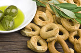 Taralli biscuit — Stock Photo
