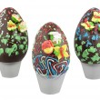 Chocolate easter eggs — ストック写真