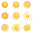 Royalty-Free Stock Vector Image: Sun symbol