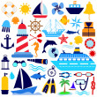 Nautical icon — Stock Vector #8014296
