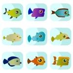 Cartoon fish — Stock Vector #8014553