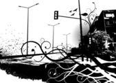Urban city — Stock Vector