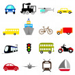 Transportation icon — Stockvector #8310951