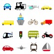 Transportation icon — Stock Vector #8310951
